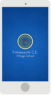 Screenshot of the Fittleworth Primary School Mobile App