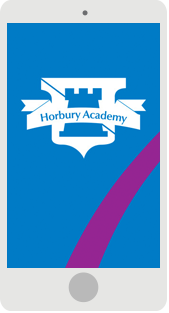 Screenshot of the Horbury Academy Mobile App